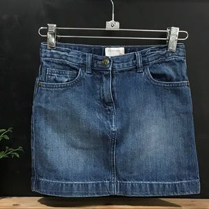 Crewcuts Denim Skirt Blue Jean Sz 8